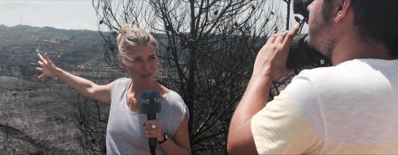 La Entrevista con Lucía P. Sanagustín, reportera de España Directo