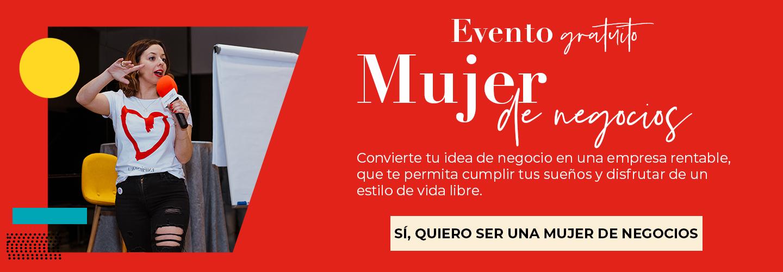 Banner-Evento gratuito Mujer de Negocios