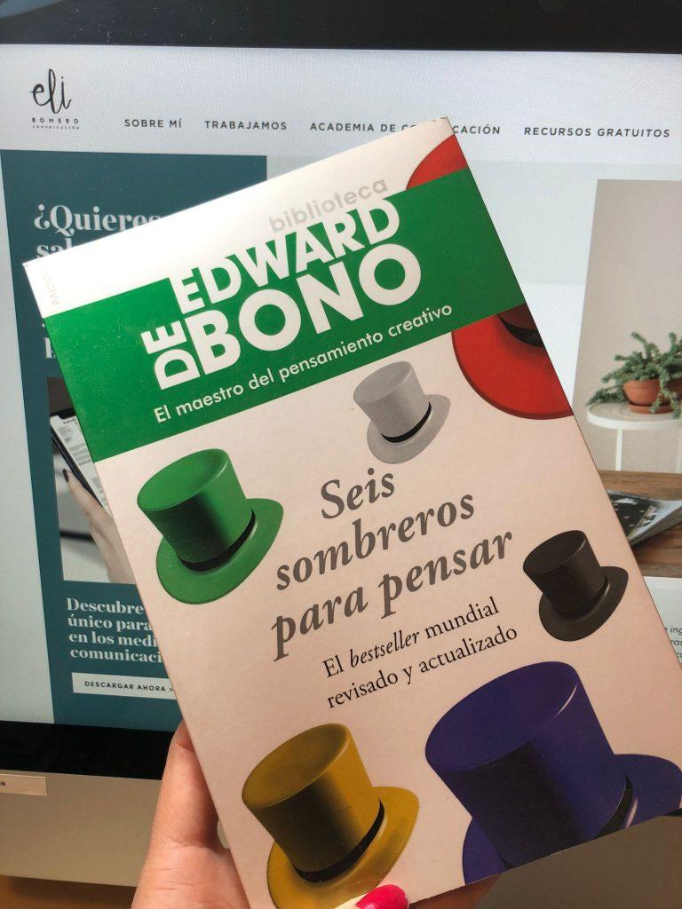Edward Bono_Seis sombreros de pensar_libro recomendado
