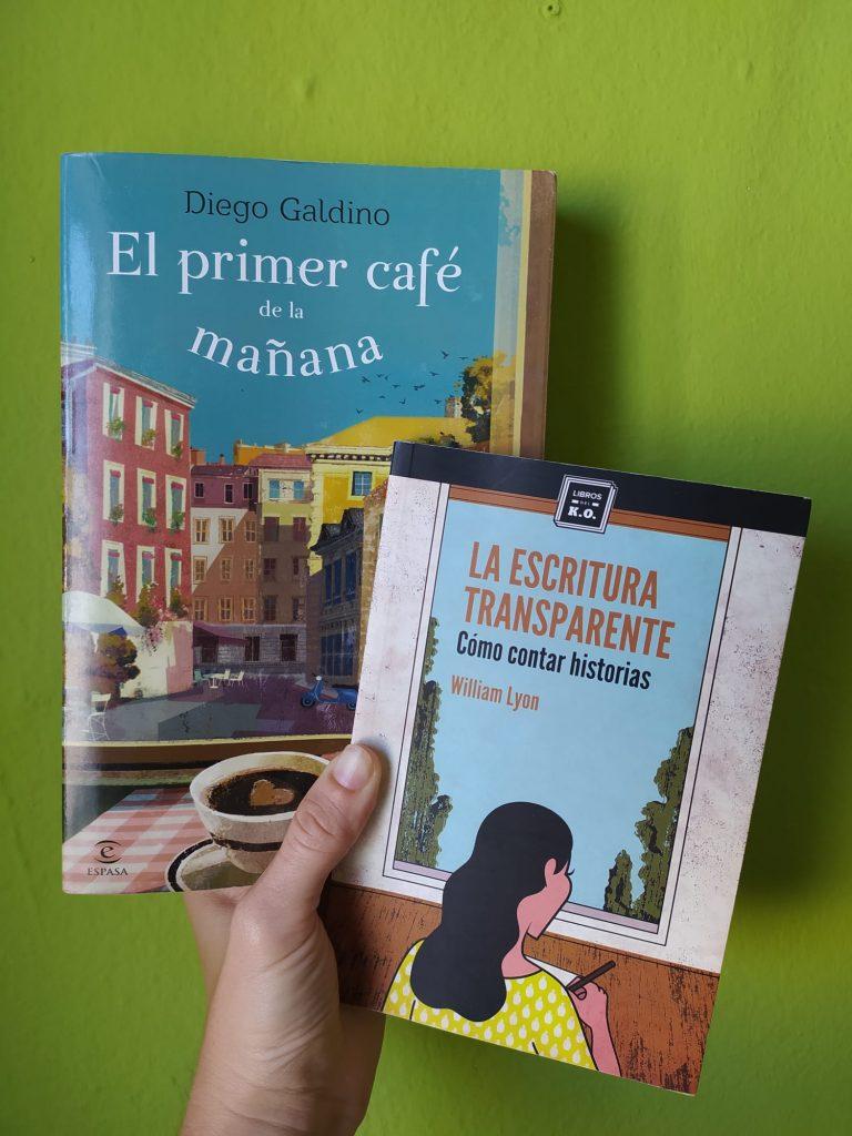 El primer café de la mañana_Diego Galdino_La escritura transparente_William Lyon_libros recomendados
