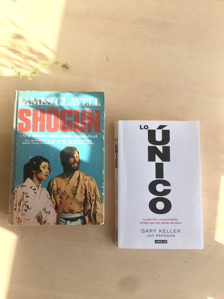 Lo único_Gary Keller_Shogun_James Clavell_libros recomendados